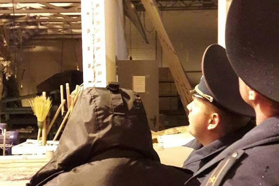 На месте взрыва работают следователи. Фото: Следственный комитет.