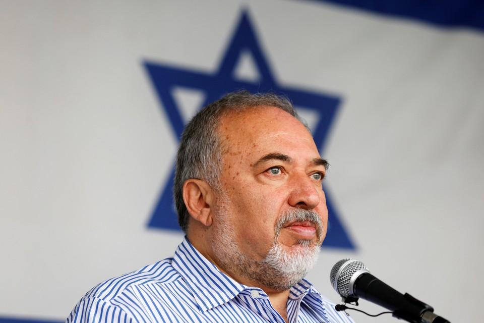 Глава Минобороны Израиля Авигдор Либерман