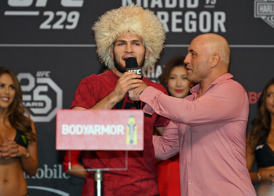 Хабиб Нурмагомедов перед боем с Конором Макгрегором.