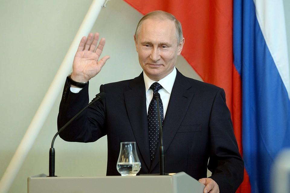 Президент России Владимир Путин отметил 66-летие.