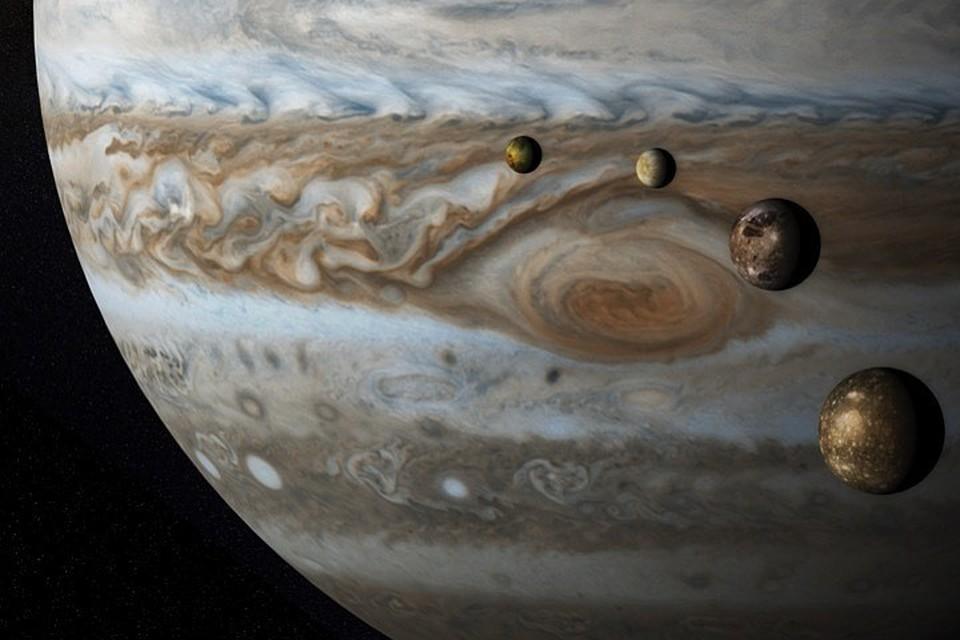 Один из спутников Юпитера может оказаться обитаемым