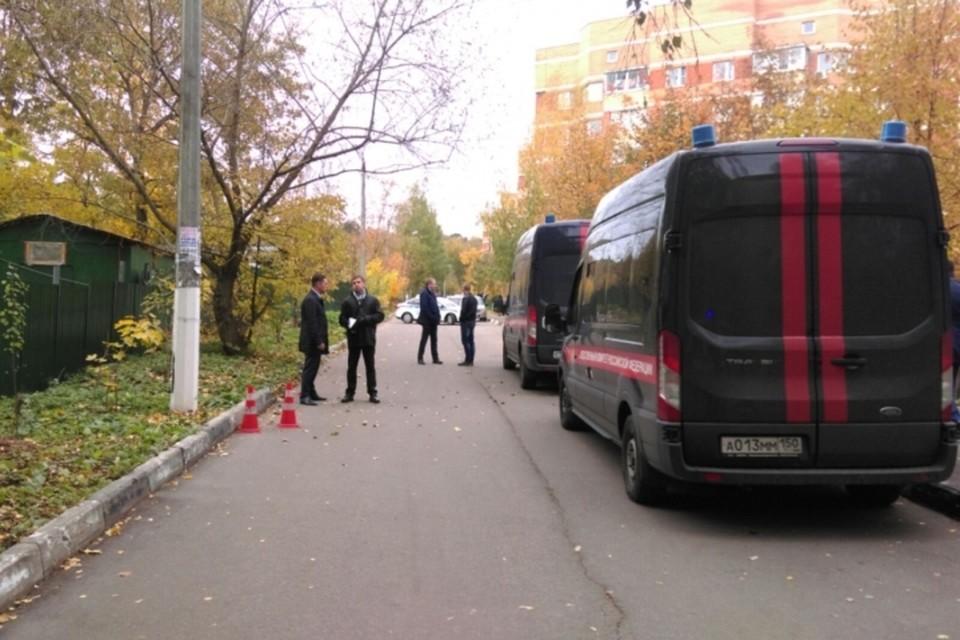В настоящее время на месте происшествия работают следователи и криминалисты. Фото: Главное следственное управление СКР по Московской области