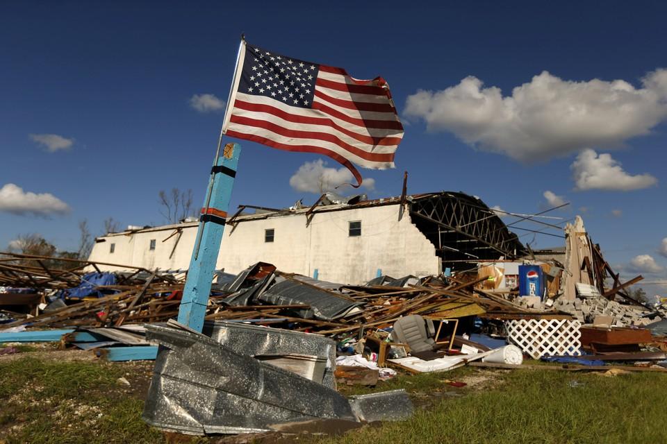 """Последствия урагана """"Майкл"""" во Флориде"""