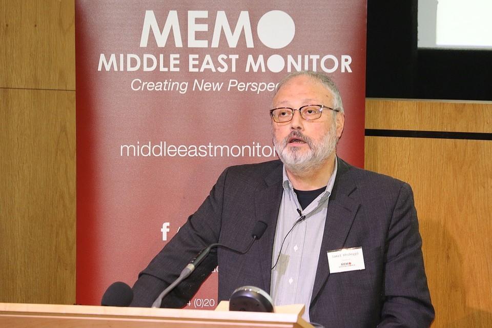Журналист Джамаль Хашкаджи