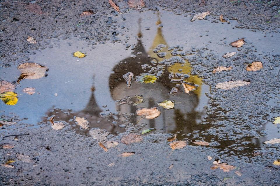 Псковскую область ждет дождливый ноябрь. Фото: Юлия Сергеева.
