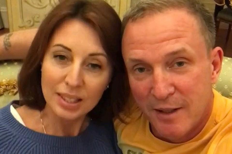 Виктор Рыбин и Наталья Сенчукова поблагодарили за поддержку.