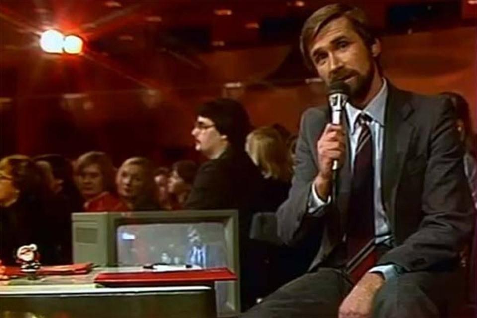 """Журналист """"Комсомольской правды"""" Юрий Филинов в 80-е годы."""