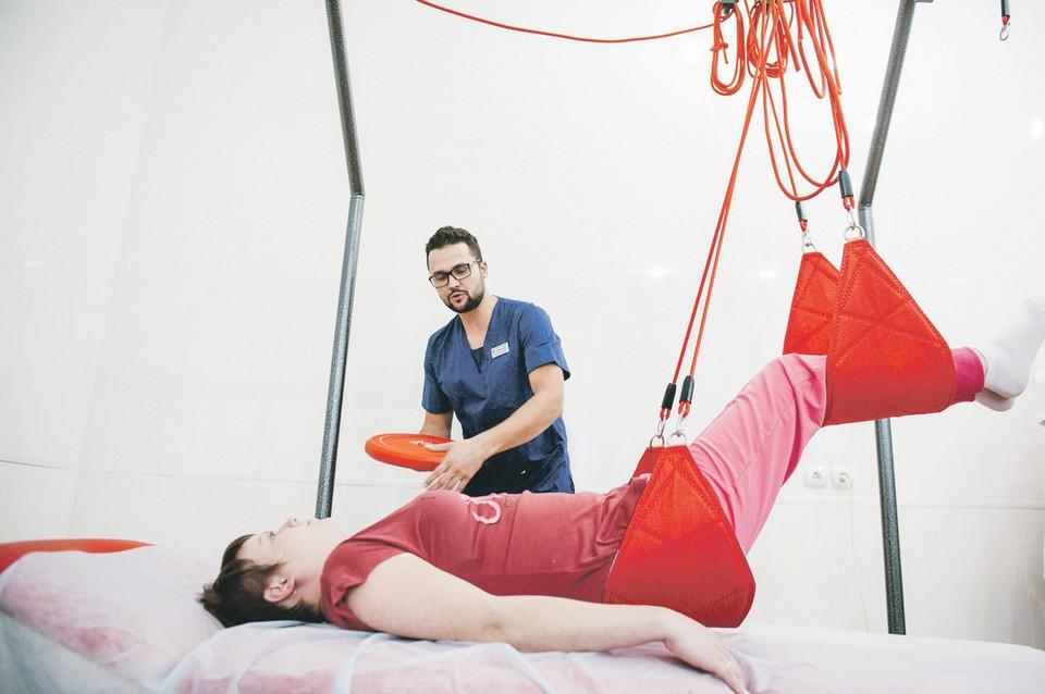 Для реабилитации пациентов используются передовые медицинские разработки - например, установка, позволяющая успешно бороться с болью при защемлении нервов.