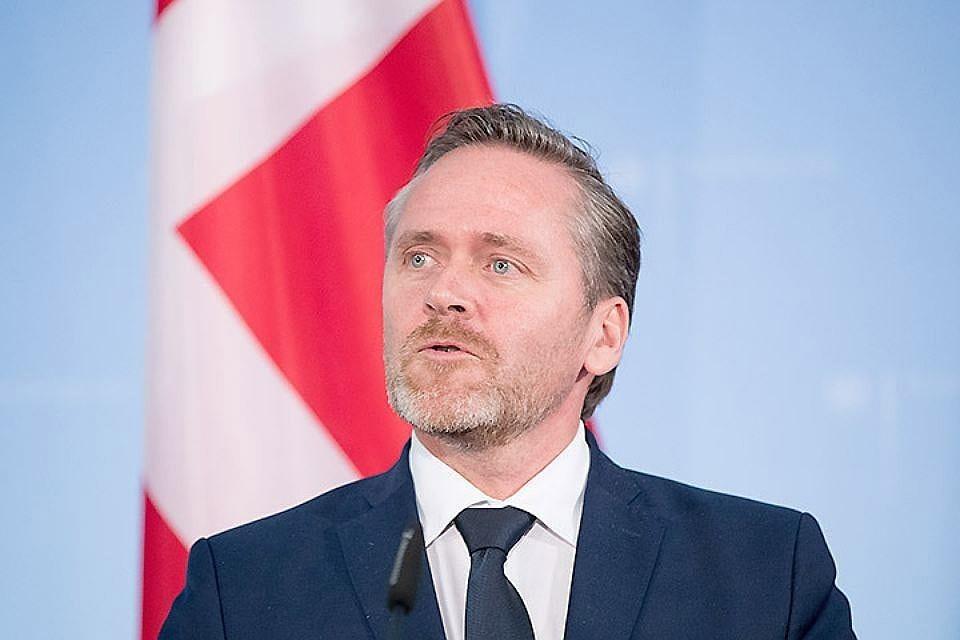 Министр иностранных дел Дании Андерс Самуэльсен. Фото: EPA/KAY NIETFELD