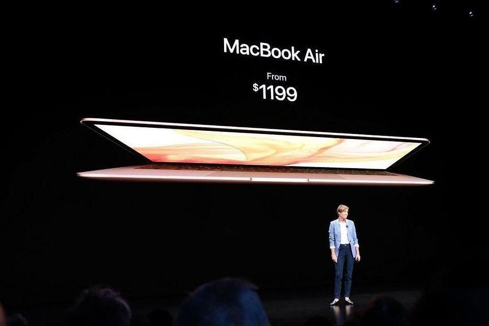 Apple представила новое поколение MacBook Air и IPad Pro ФОТО: официальный сайт Apple