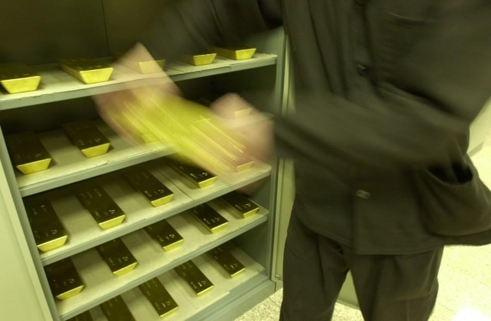 Россия пополнила свой запас золота