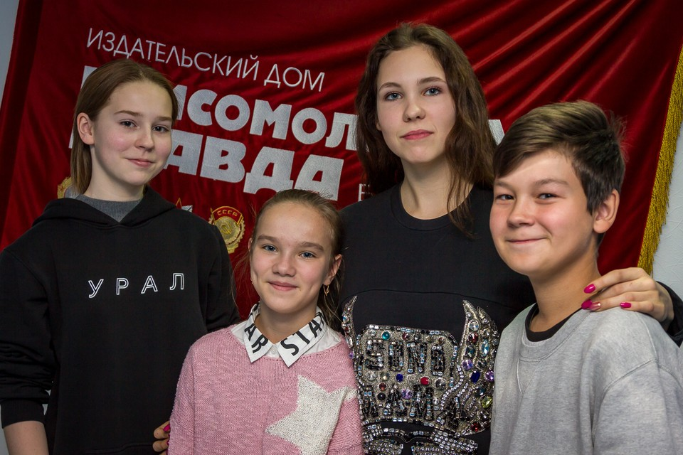 Ребята рассказали о программах Ельцин-центра