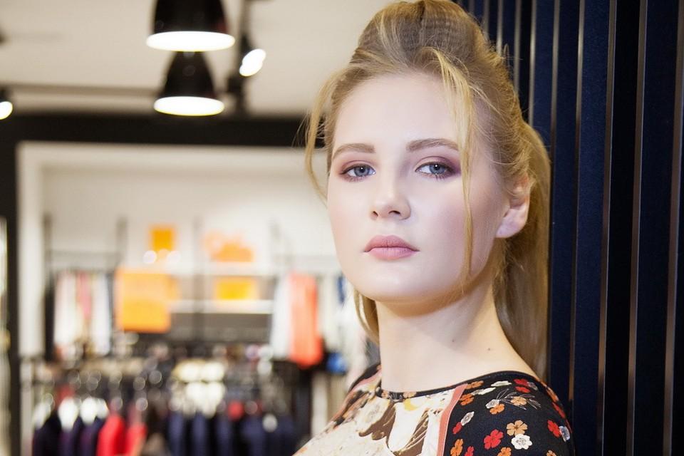 """На конкурсе красоты """"Мисс Псков - 2018"""" Ксения хочет проверит все свои способности. Фото: Даниил Леонтьев."""