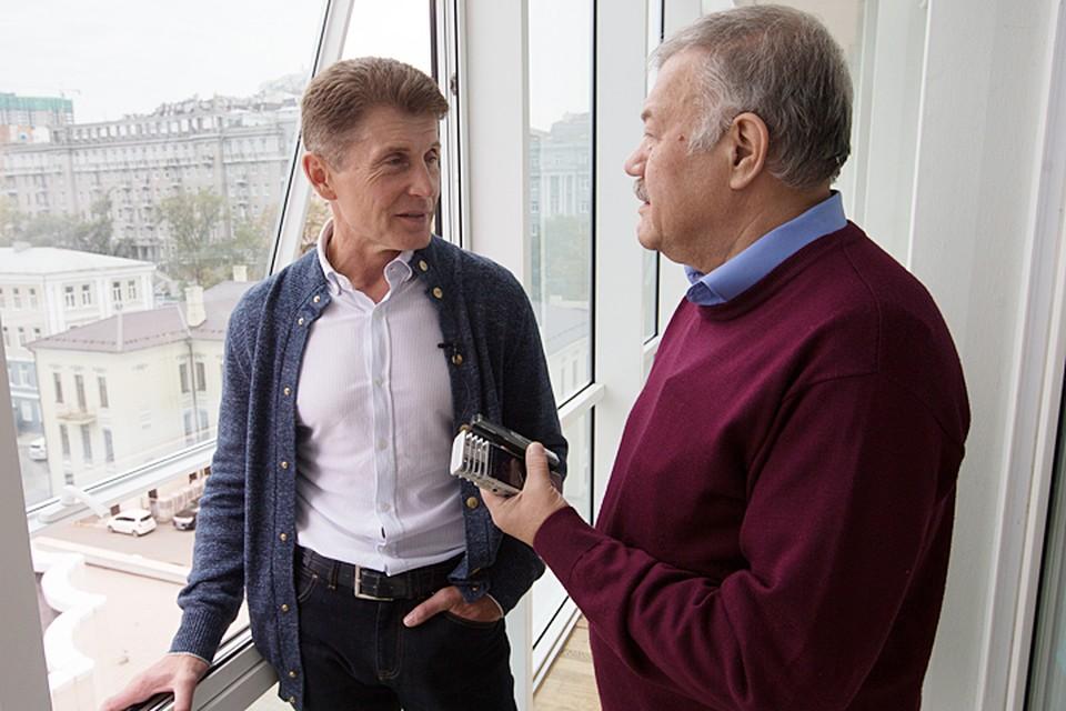Александр Гамов дозвонился до Олега Кожемяко. Фото: Хитров Александр