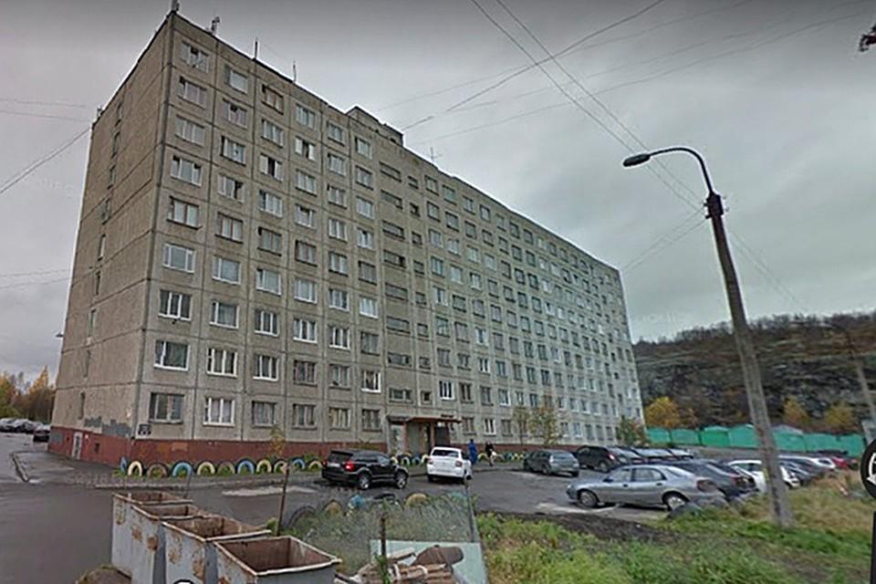 a56094c11bb2 В Мурманске спасли семь человек на пожаре в девятиэтажном общежитии