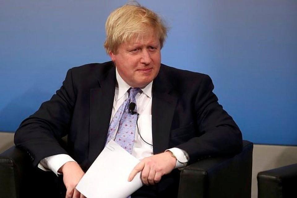 Бывший глава МИД Великобритании Борис Джонсон