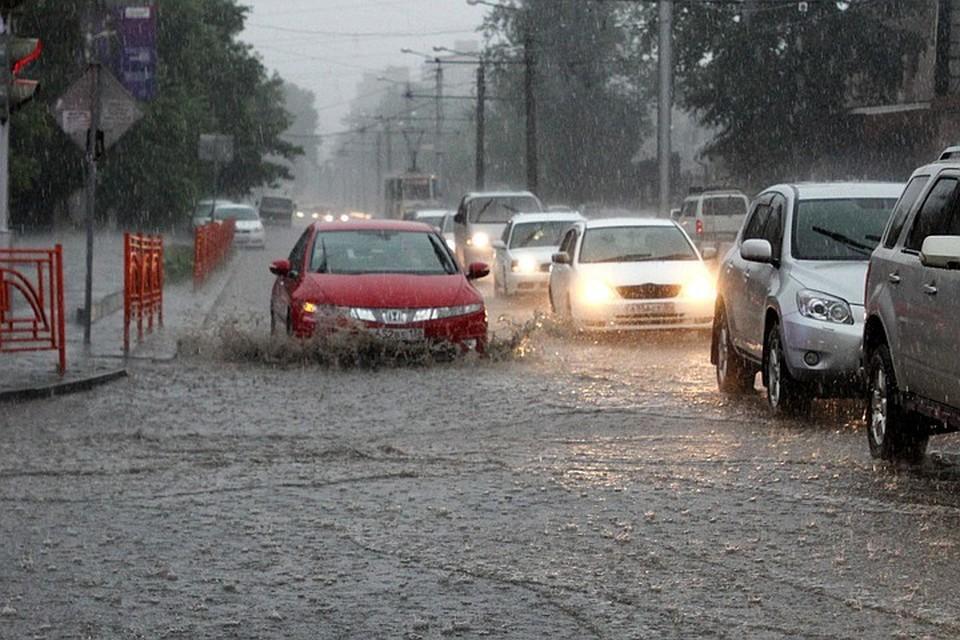 На Катар обрушился мощный ливень