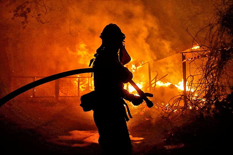 Количество жертв лесных пожаров в Калифорнии превысило 30 человек.