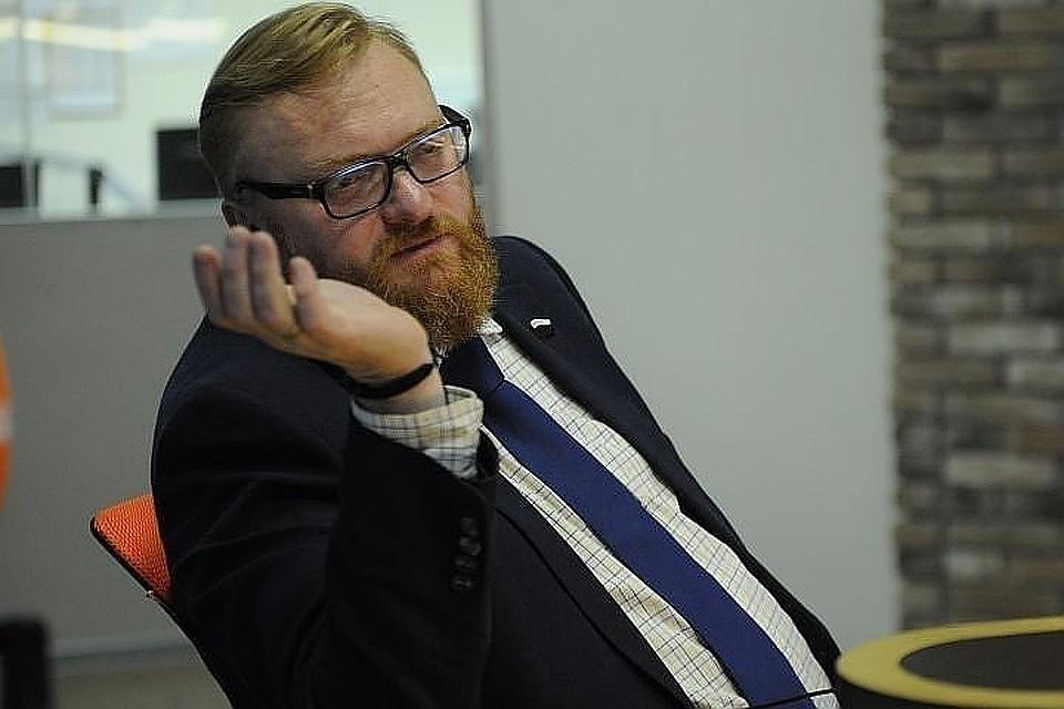 Виталий Милонов предложил ограничить свободный доступ в социальные сети