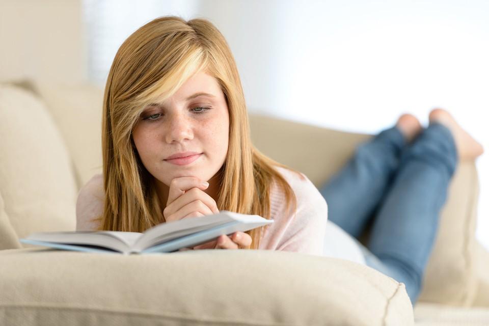 В такой холод нет ничего лучше, чем остаться дома с хорошей книжкой.
