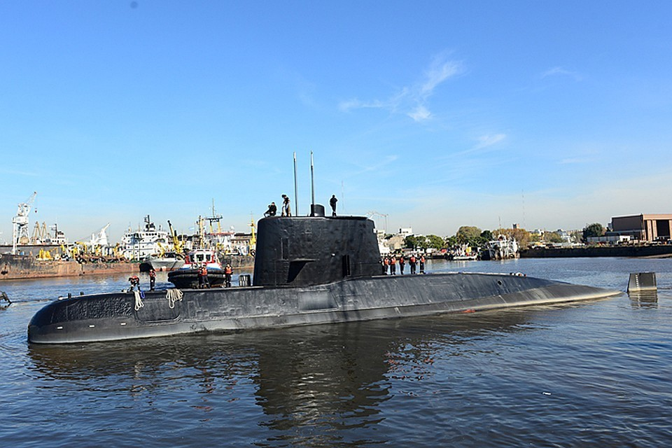 Аргентинская подлодка «Сан-Хуан» затонула из-за взрыва