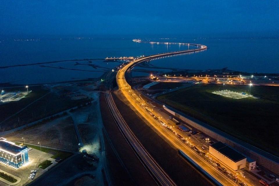В Крыму заявления о «проседании» моста назвали «информационными грязными вбросами»