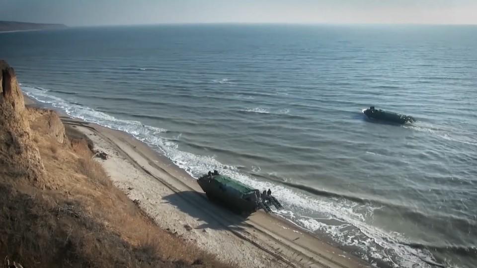 Украина провела учения в Азовском море Фото: пресс-служба Операции объединенных сил