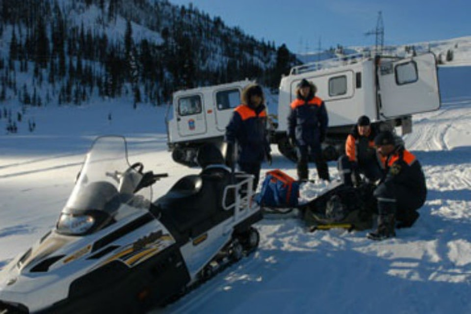 Спасатели ищут потерявшихся туристов Фото: МЧС Хакасии