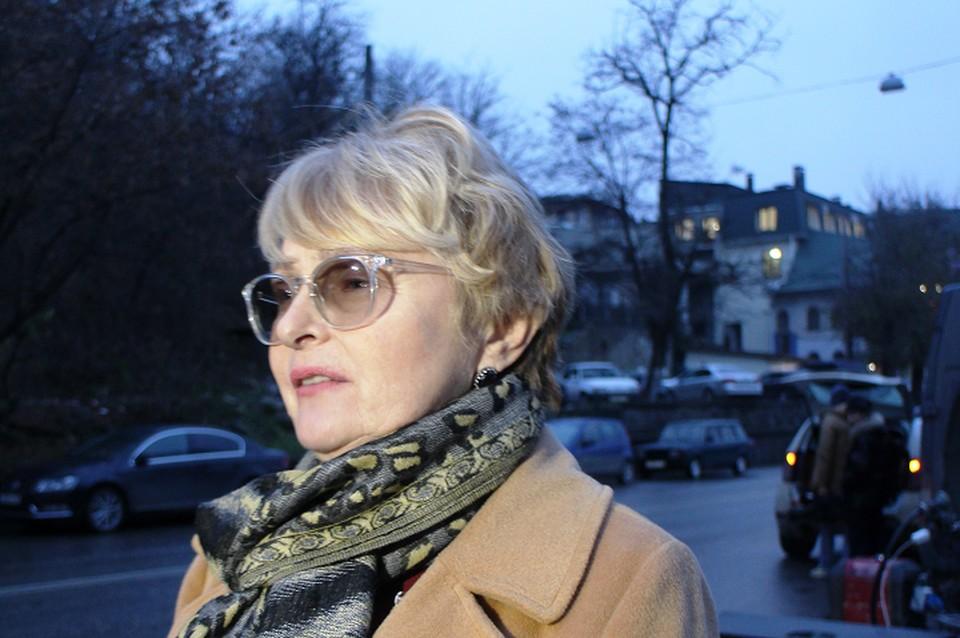 Уполномоченный по правам человека в Республике Крым Людмила Лубина.