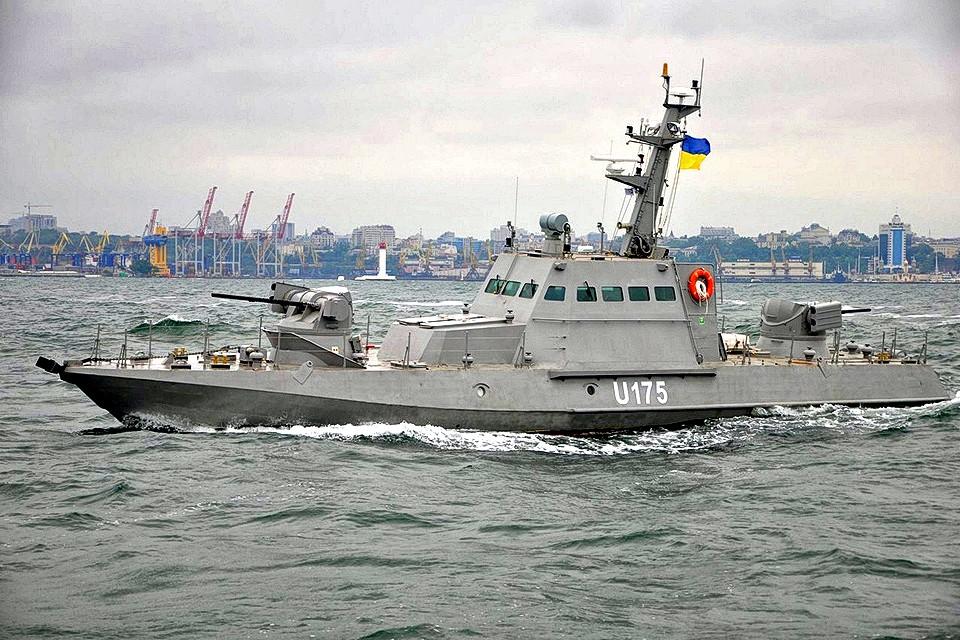 Украинский бронекатер проекта 58155 «Гюрза-М».