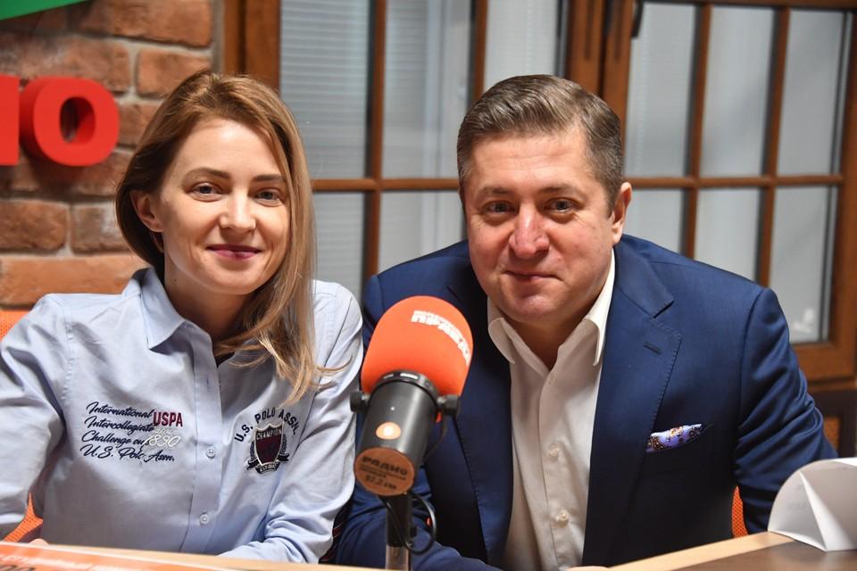 Депутат Госдумы Наталья Поклонская с супругом юристом Иваном Соловьевым.