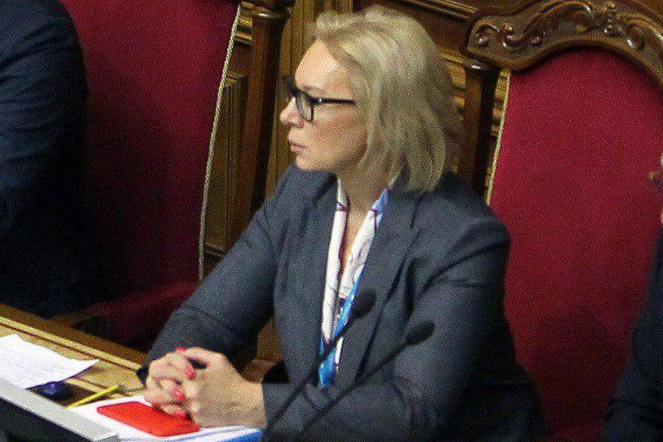 Уполномоченный Верховной рады по правам человека Людмила Денисова