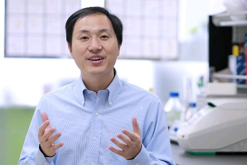 Китайский ученый Хэ Цзянькуй.