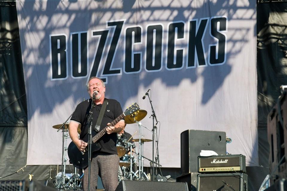 Основатель и фронтмен британской рок-группы Buzzcocks Пит Шелли