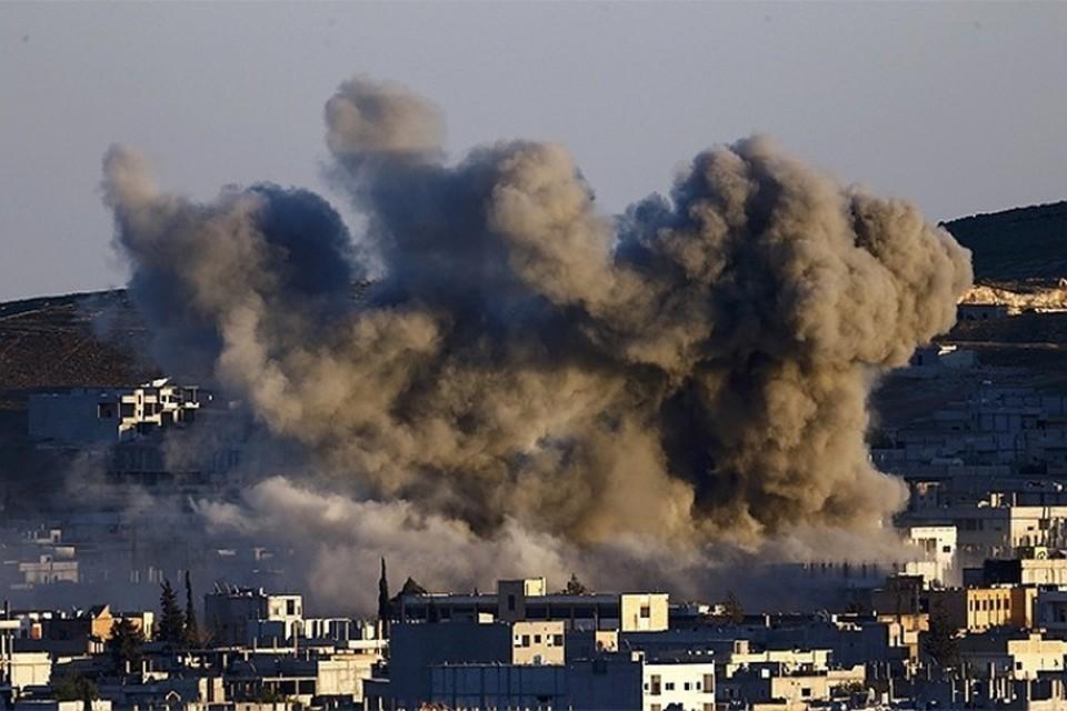 Международная коалиция во главе с США нанесла очередной авиаудар в Сирии