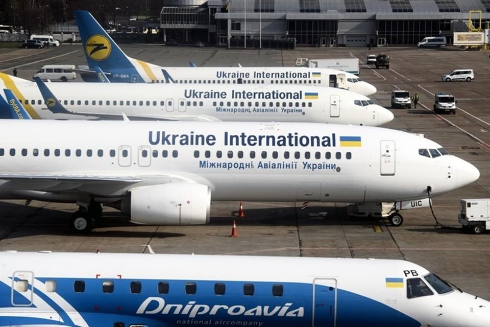 В международном аэропорту Киева произошло ЧП
