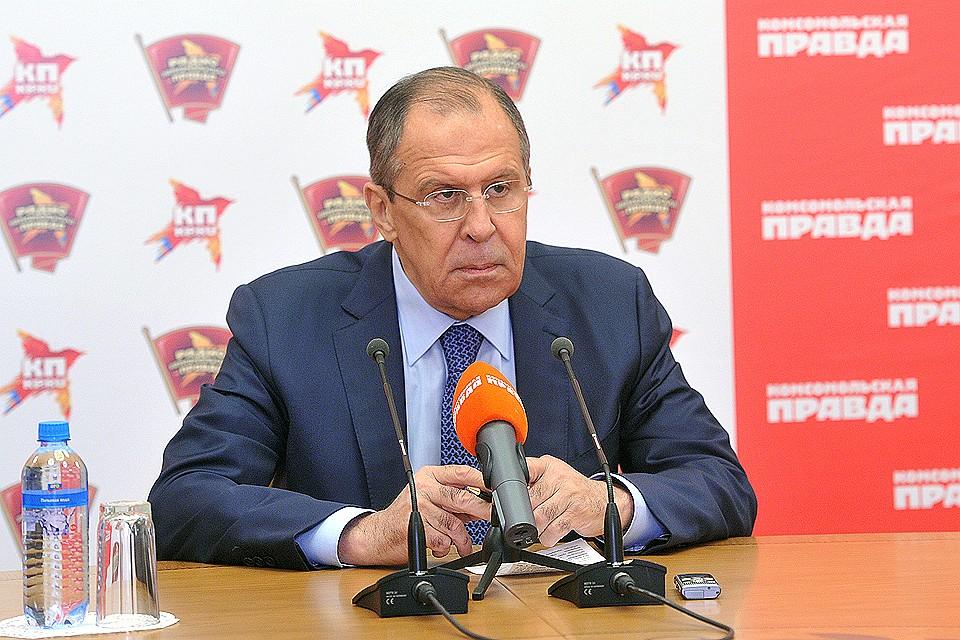b8471c7845c2 Задайте вопрос министру иностранных дел Сергею Лаврову
