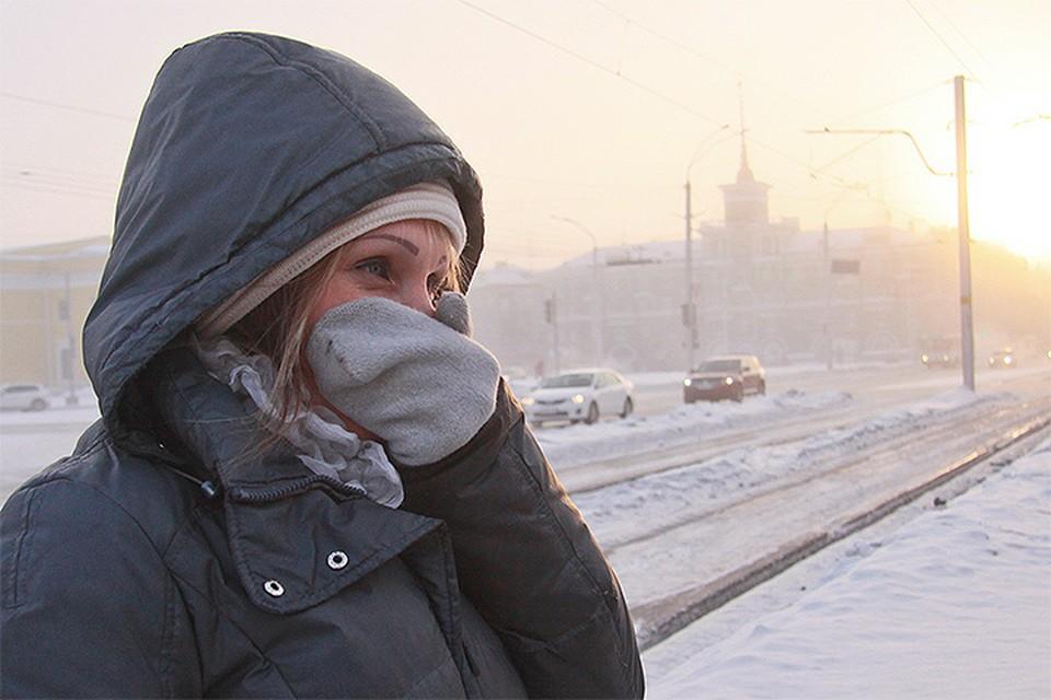 К 06:00 мск столбики термометров в столице опустились до отметки в -15,8 градуса