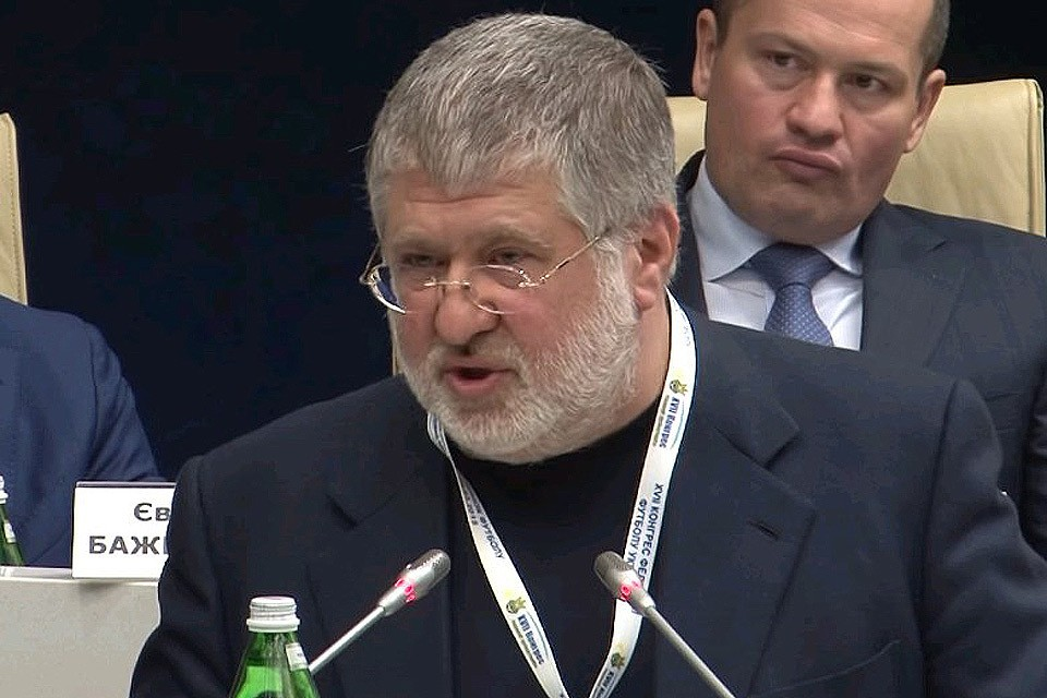 Украинский олигарх Игорь Коломойский.