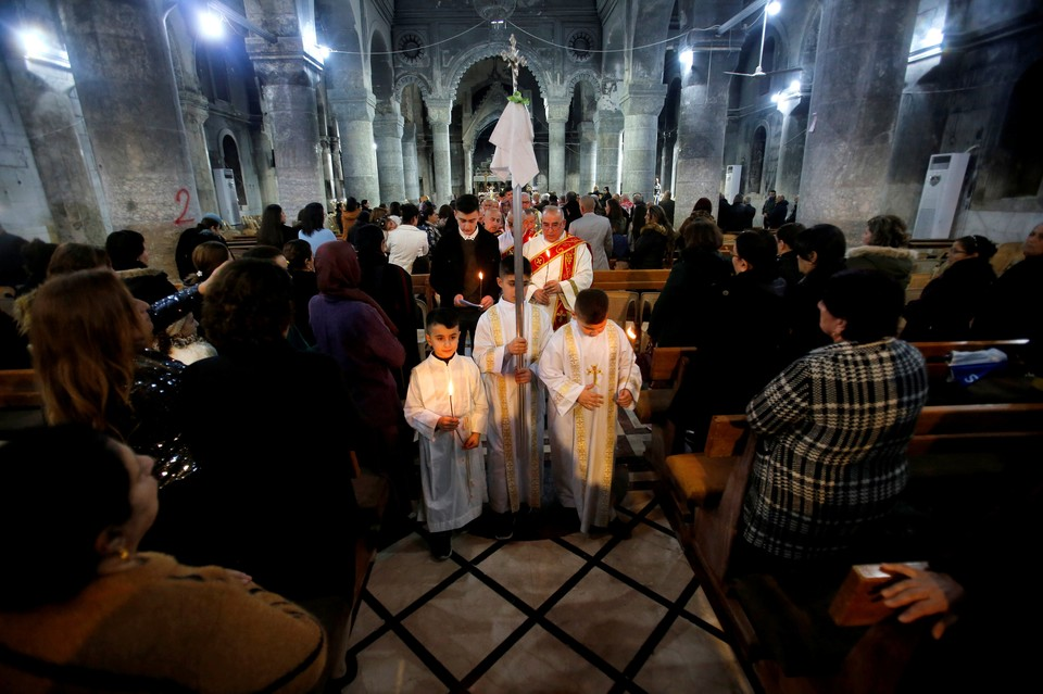 В Ресублике Ирак Рождество объявили официальным праздником