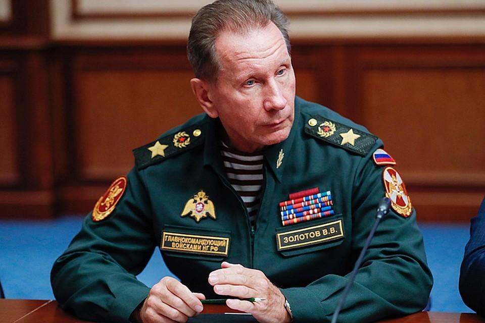 Директор Росгвардии Виктор Золотов. Фото: Михаил Метцель/ТАСС