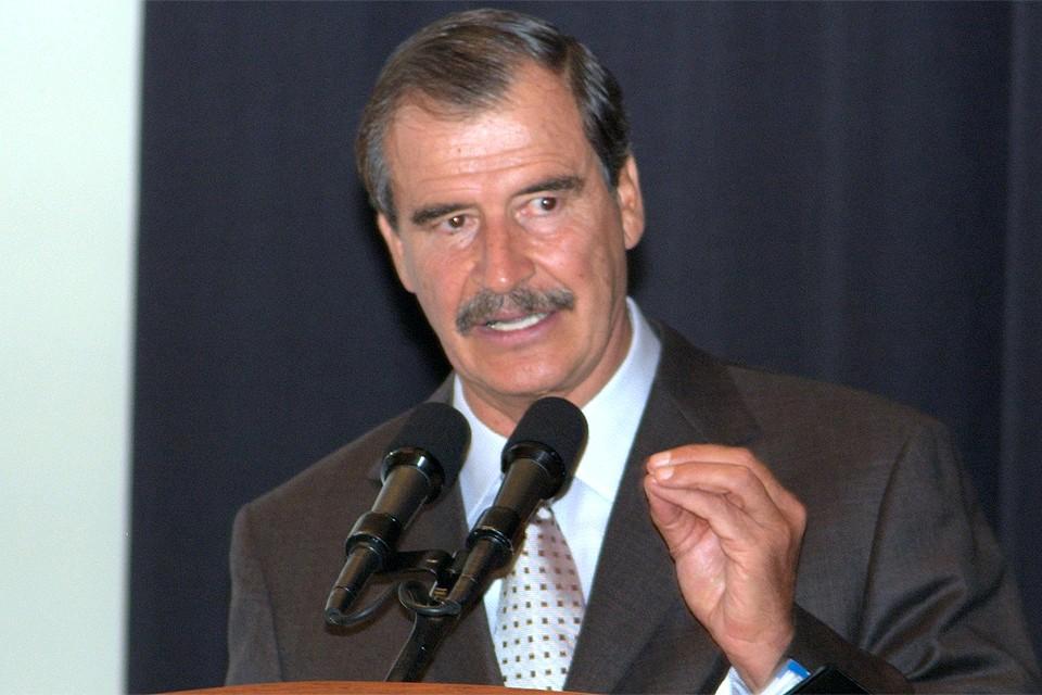 Бывший президент Мексики Висенте Фокс Кесада.