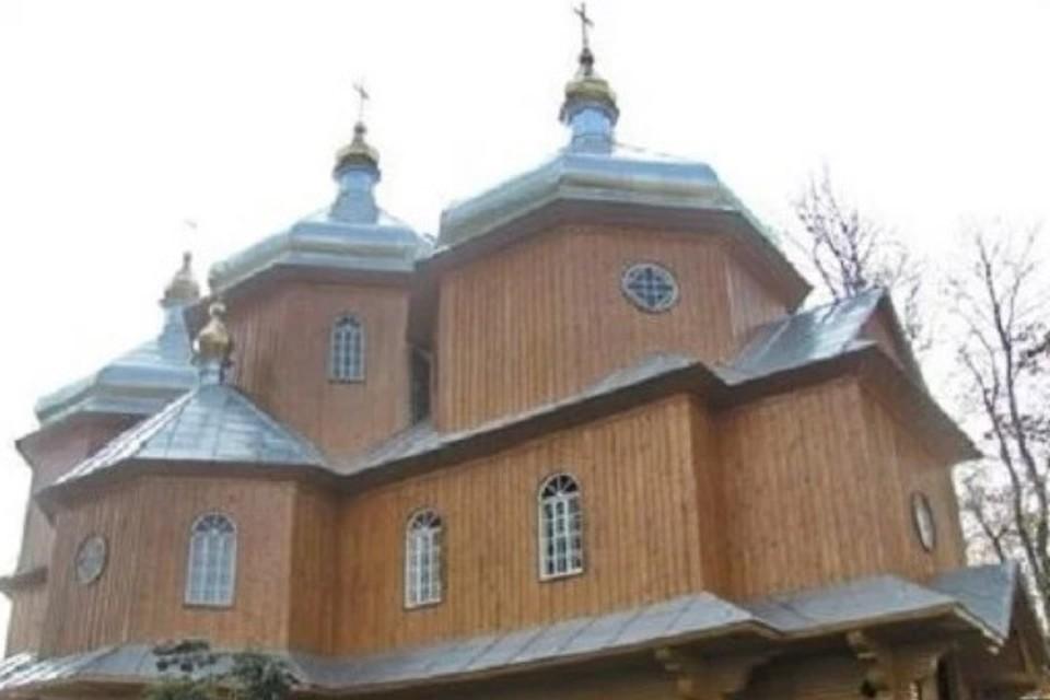 Церковь святого Иоанна Крестителя в селе Шандровец. Фото: официальный сайт УПЦ/church.ua