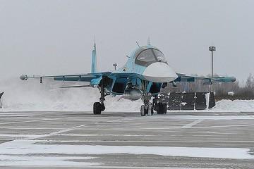 Два летчика столкнувшихся в Татарском проливе Су-34 погибли, запутавшись в стропах парашютов