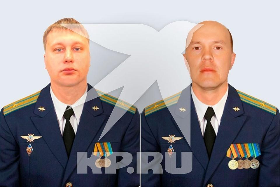 Фото из досье. Алексей Овсянников и Алексей Пайдыганов
