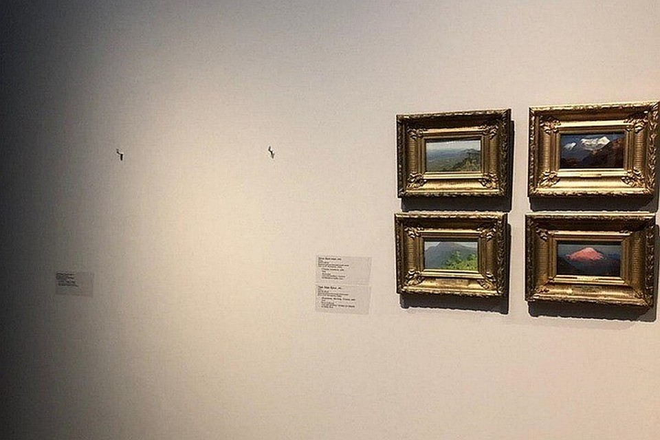 Из Третьяковской галереи на глазах посетителей украли картину Куинджи