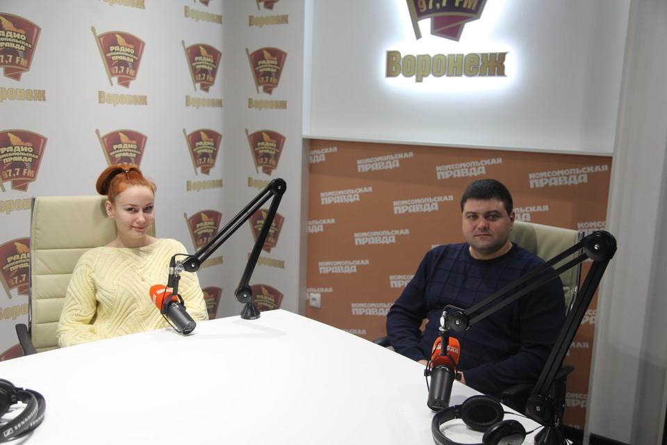 Анастасия Квасова и Владимир Середа.