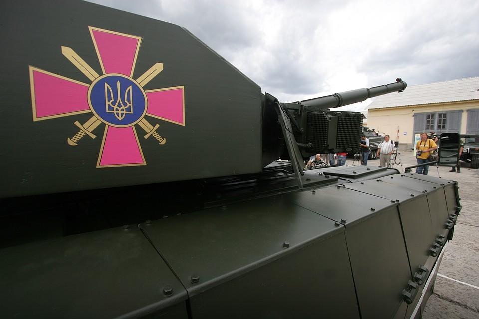 "Танк ""Оплот"". Фото ИТАР-ТАСС/ Владимир Синдеев"