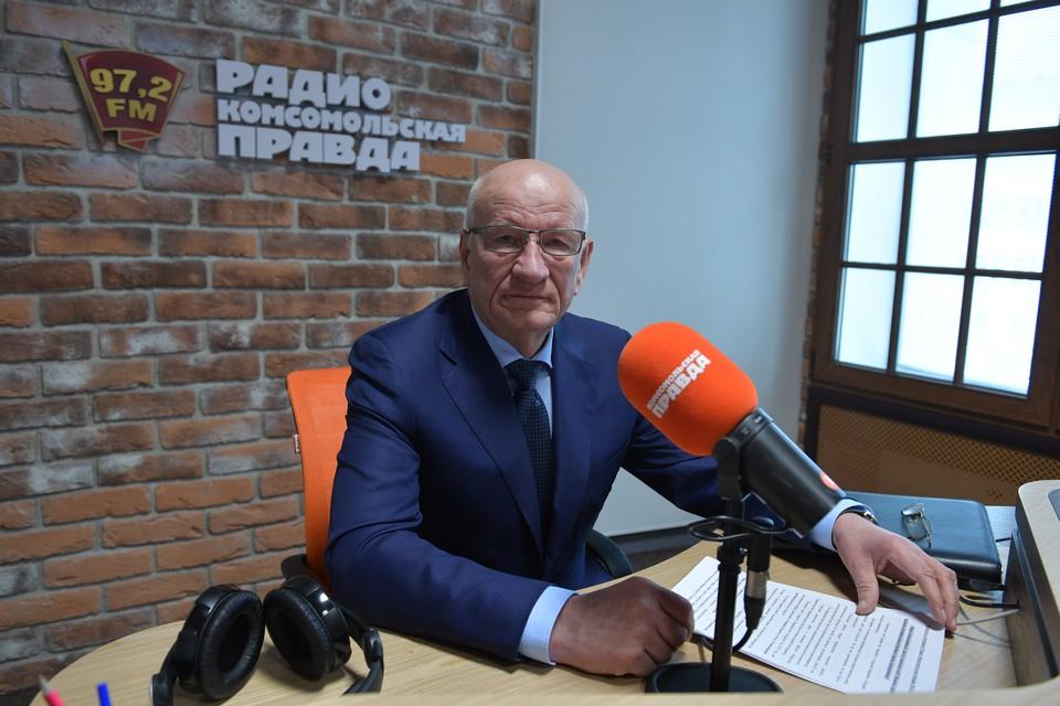 Губернатор Оренбургской области Юрий Берг в гостях у Радио «Комсомольская правда»
