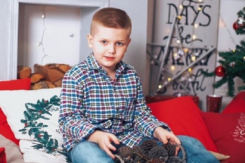 Мальчику нужна финансовая помощь для лечения